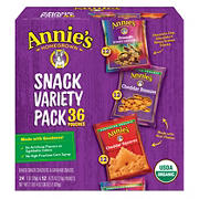 Annie's Organic Snack Variety Pack, 36 ct.
