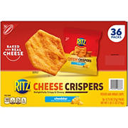 Ritz Cheese Crispers Cheddar Chips, 36 ct.