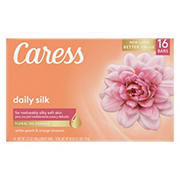 Caress Bar Daily Silk Soap Bar, 16 ct.