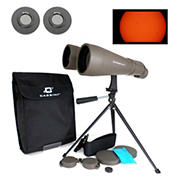 Cassini 15mm x 70mm Astronomical Binocular with Solar Filter Caps and Tabletop Tripod