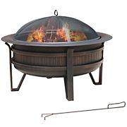 "35"" Round Outdoor Fire Pit"