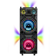 "QFX 12"" DJ Speaker with Surround Lights"