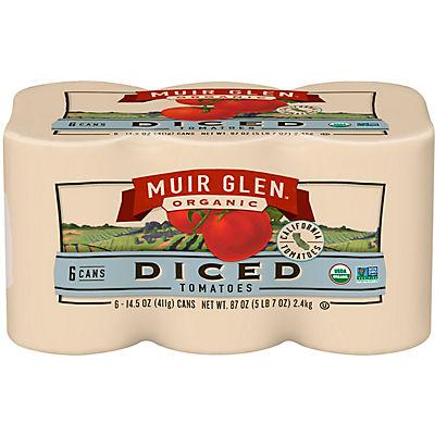Muir Glen Organic Diced Tomatoes, 6 pk./14.5 oz.