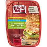Hillshire Farm Ultra Thin Lower Sodium Oven Roasted Turkey Breast Sliced Lunchmeat, 32 oz.