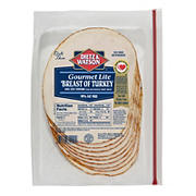 Dietz & Watson Pre-Sliced Gourmet Lite Turkey Breast, 16 oz.