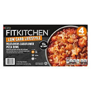 Fit Kitchen Meat Lovers Cauliflower Pizza Bowls, 4 ct.