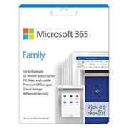 Microsoft 365 Family 12 Month Subscription