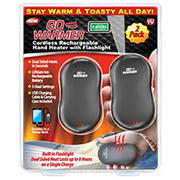 Go Warmer Cordless Rechargeable Hand Warmers, 2 pk.