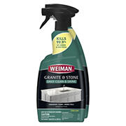 Weiman Granite and Stone Daily Cleaning and Shine Disinfectant, 2 pk.