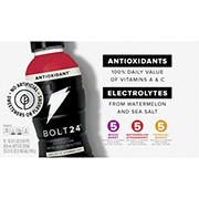 BOLT24 Fueled by Gatorade 3-Flavor Antioxidant Variety Pack, 15 pk./16.9 fl. oz.