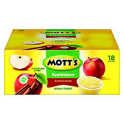 Mott's Cinnamon Applesauce, 18 ct.