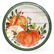 "Artstyle 7"" Autumn's Gift Paper Dessert Plates, 75 ct."