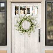 """Puleo International 24"""" Artificial Spring Willow Wreath"""