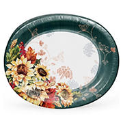 "Artstyle 10"" x 12"" 'Farmhouse Fall' Performa Oval Platter, 35 ct."