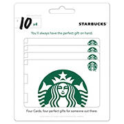 Starbucks $40 Gift Card