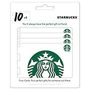 Starbucks $40 Gift Card