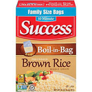 Success Rice Boil-in-Bag Whole Grain Brown Rice, 32 oz.