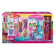 Barbie Dollhouse Portable Playset