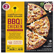 California Pizza Kitchen Crispy Thin Crust BBQ Chicken Pizza, 3pk