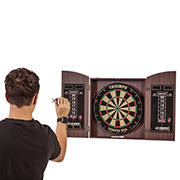 Triumph Wellington Bristle Dartboard Cabinet Set