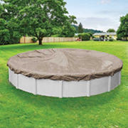 Pool Mate Sandstone Winter Swimming Pool Cover for 24' Pool