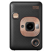 Fujifilm Instax Mini LiPlay 4.9MP Hybrid Instant Camera - Black