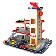 Small Foot Wooden Toys Parking Garage Playset