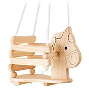 Small Foot Wooden Toys Children's Horse Swing