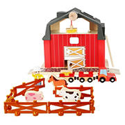 Small Foot Wooden Toys Farm Playset