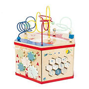Small Foot Wooden Toys 7-in-1 Activity Center Move It! Playset