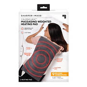 Calming Heat Massaging Weighted Heating Pad