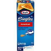 Kraft Singles Yellow American Cheese Slices, 4 lbs.