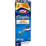 Kraft Singles White American Cheese Slices, 4 lbs.