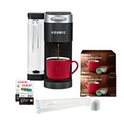 Keurig K-Supreme Single Serve Coffee Maker, 12 K-Cups, Water Filter and $20 off Coffee Coupons