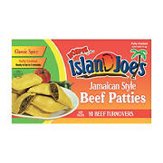 Island Joe's Classic Spicy Beef Jamaican Style Patties