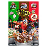 Kellogg's Halloween Edition Breakfast Cereal Variety Pack, 3 ct.