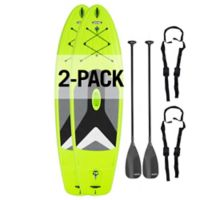 Deals on 2-Pack Lifetime Horizon 100 Stand-Up Paddleboard 90891