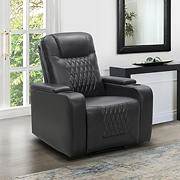 Abbyson Living Bolton Theatre Recliner - Grey