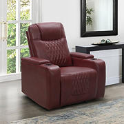 Abbyson Living Bolton Theatre Recliner - Red