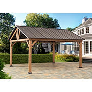 Berkley Jensen 12' x 10' Wood Pavilion