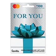 Vanilla MasterCard Party Bow $100 + $5.95 fee