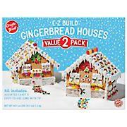Create A Treat E-Z Build Gingerbread Houses, 2 ct.