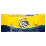 Redi Wipes Lemon Scent Disinfecting Wipes, 75 ct.
