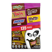 Mars Chocolate Favorites Halloween Variety Bag, 135 ct.