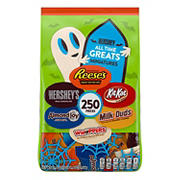Hershey's All Time Greats Variety Bag, 250 ct.