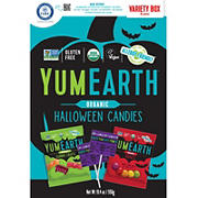Yum Earth Organic Halloween Variety Box, 50 ct.