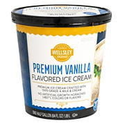 Wellsley Farms Premium Vanilla Ice Cream, 64 oz.