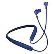 SOL REPUBLIC Shadow Fusion Wireless Neckband Earphones with Bluetooth - Blue