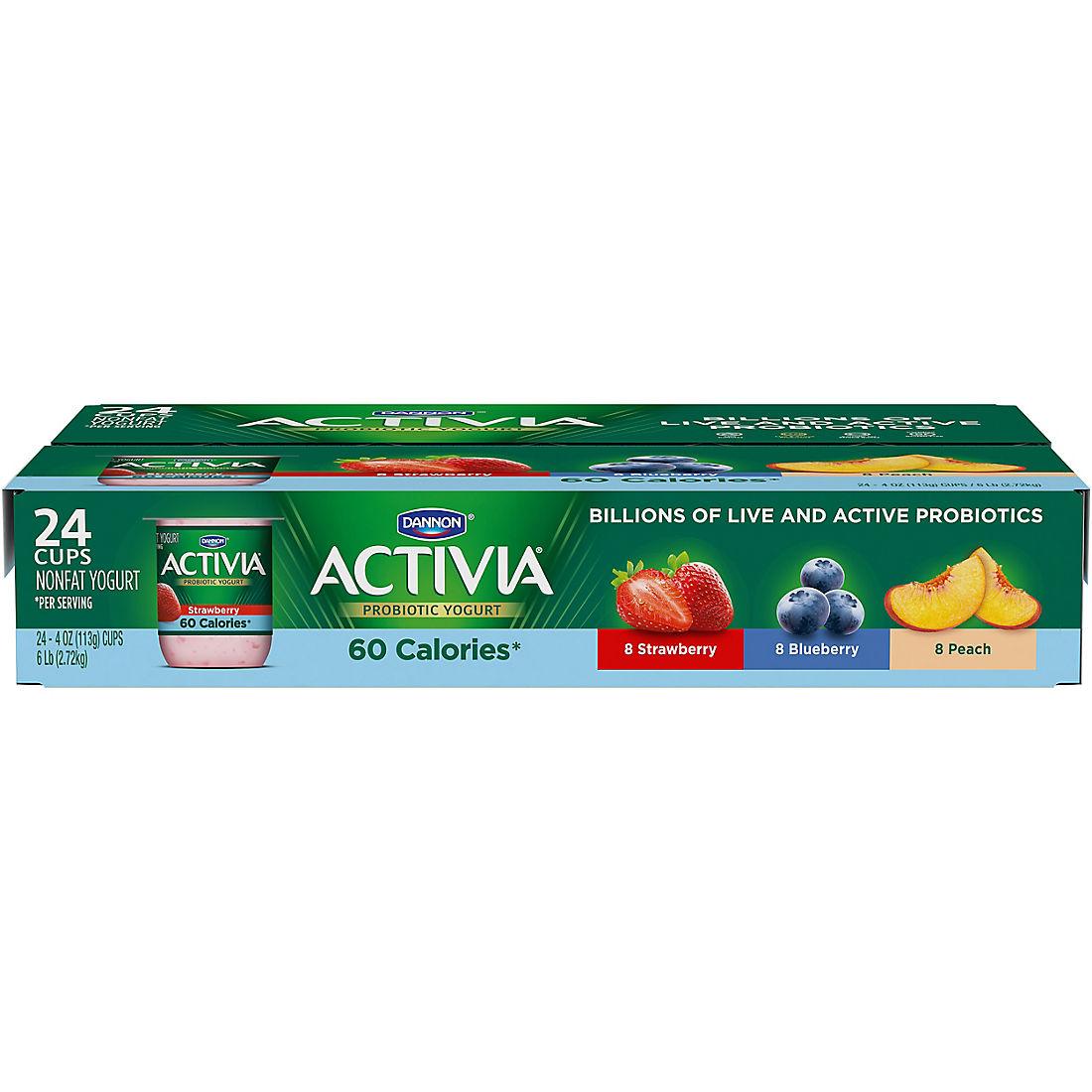 Dannon Activia Light Nonfat Strawberry
