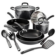 Tramontina 12-Pc. Porcelain Enamel Cookware Set - Gray